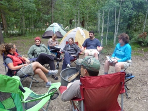 Base Camp at National Forest Camp Ground